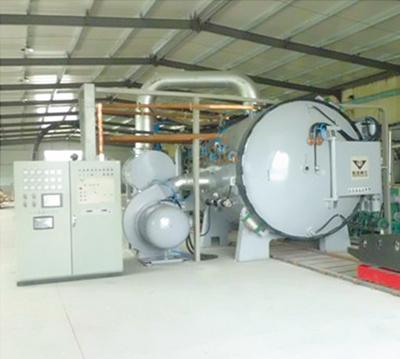 高温低真空钎焊炉